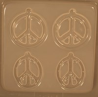 Peace Signs Earrings RM 51614