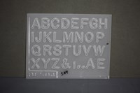 Resin Letters 32 on 1 Jewellery Mould    RM 1504