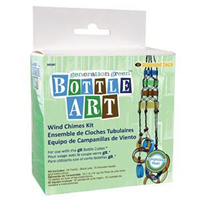 Bottle Art Wind Chimes