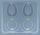 Resin Earrings (2 pairs)  Jewellery Mould    RM 1395