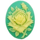 F0060 Cake Silicone Mould - Flower Oval