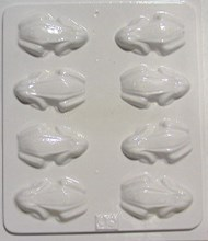 Chocolate Mould 03 - Frogs