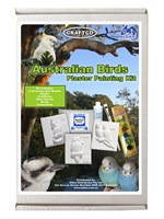 Australian Birds Plaster Hobby Mould Kit