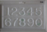Resin Numbers Jewellery Mould    RM 1666
