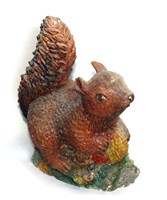 LM 1002 Squirrel Latex Mould/Mold for Plaster/candle/Soap/Concrete