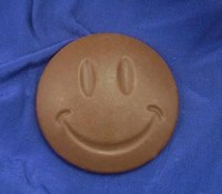Smiley Round Chocolate Mould CO046