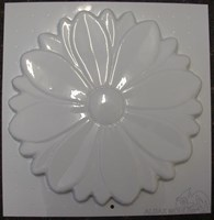 Flower Ornament Plaque Mould CM 6052