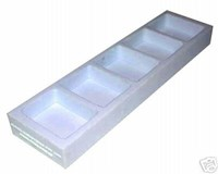 Flexible Silicone Soap Bar Mould SM2001