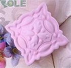 R0313 Soap Silicone Mould - Classic Square Shaped