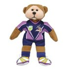 Beanie Kid Nathan the NRL Melbourne Storm Bear