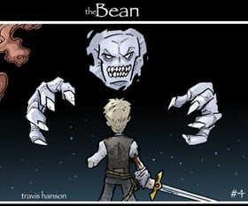 The Bean Comic Book 4