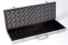 Empty Carry Case Aluminium For 500 Poker Chips