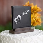 30016 Love Chalk Cake Top