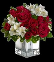 T407-3A Christmas Blush Bouquet