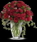 T231-1A Rose Romanesque Bouquet
