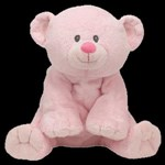 TY Pluffies - BABY WOODS PINK