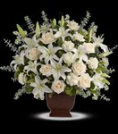 T216-1A Teleflora's Loving Lilies and Roses Bouquet