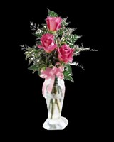 E6-3484S Triple Delight Rose Bouquet