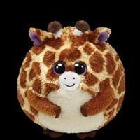 TY Beanie Ballz - TIPPY the Giraffe