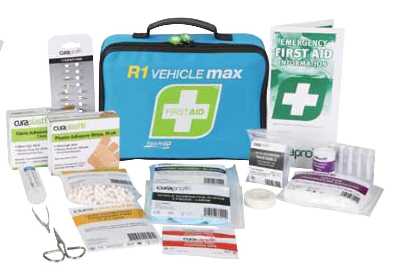 First Aid Kits For Vehicles : R vehicle max first aid kit
