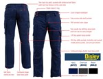 Bisley Ripstop Cargo Work Trousers