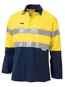 Bisley Taped Lightweight Hi-Vis Shirt