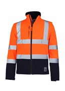 Rainbird Landy Softshell Jacket HiVis Day/Night Taped