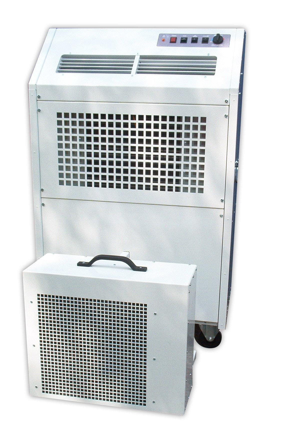 Split Portable Air Conditioning System Aircon247.com portable air  #3D4B5F