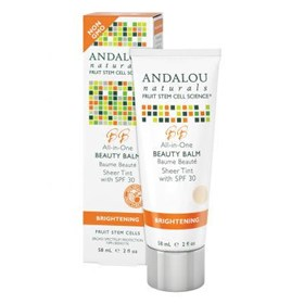 Andalou Naturals Brightening All-In-One Beauty Balm Sheer Tint with SPF30 58ml