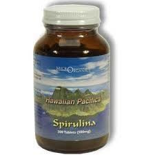 Hawaiian Pacifica Spirulina 200 Tablets (500mg)