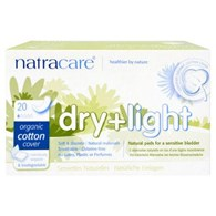 Natracare Dry and Light Incontinence Pads 20 Pack