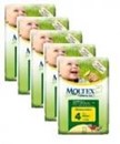 MOLTEX Eco MAXI (Size 4) nappies - 5 packs for $115.95 (RRP $130.95) Save $15!