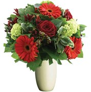 Flowers With Red Tones, $55