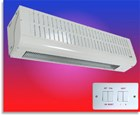 Consort Claudgen HE8350 12kw Extra Wide Air Curtain-Single or Three Phase