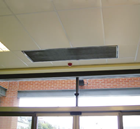 Dimplex DAB15WR Recessed 1.5m 18kW Hot Water Air Curtain from the DAB Range