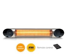 Veito Blade S 2.5kw IP55 wall mounted carbon infrared heater