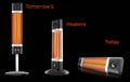 Carbon Infrared High Efficiency Electric Heaters