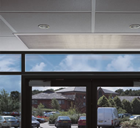 Dimplex CAB15WR Recessed 1.5m 13.5kW Hot Water Air Curtain from the CAB Range