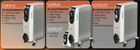 Stirflow SOFR20T 2kw Oil Filled Radiator with Timer