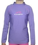 LILAC LONG SLEEVE SWIM SHIRT - YOUTH