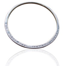 Solid Sterling Silver Maxi Bangle