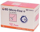 BD Micro-Fine Pen Needle 29G 12.7mm