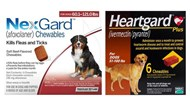 NexGard & Heartgard Combo Dogs 60-121 lbs (25-50 kg) - 6 pack