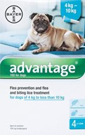 Advantage Aqua Dogs 8.8-22lbs (4-10kg) - 4 Pack