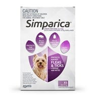 Simparica for Dogs 5.6-11 lbs (2.5-5 kg) - 3 Pack