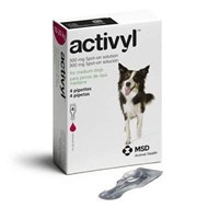 Activyl Spot-On for Medium Dogs 4-14 lbs (10-20 kg) - 4 Pipettes