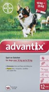 Advantix Dogs 22-55lbs (10-25kg) - 12 Pack