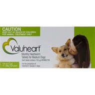 Valuheart Green Dogs 23-44lbs (10-20kg) - 6 Chewables