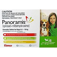 Panoramis Green Dogs 20-40lbs (9-18kg) - 6 Chewables