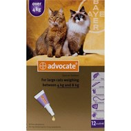 Advocate Cats Over 8.8lbs (4kg) - 1 Pack